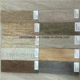 El solar de madera del vinilo de la vendimia ambiental impermeabiliza