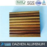 Perfil de aluminio modificado para requisitos particulares del grano de madera para toda la cabina de las clases con diversa talla