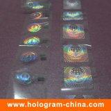 Folha de carimbo quente holográfica da desmetalização do rolo