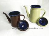 Garrafa de água do potenciômetro do chá do jarro de água da chaleira do esmalte