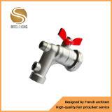 Шариковый клапан воды сейфа Pn 25 латунный