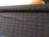 Ткань красных шерстей решетки шерстяная