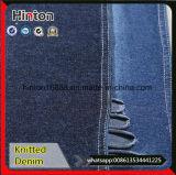 Пряжа индига покрасила ткань джинсовой ткани Knit простирания хлопка