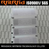 カスタム受動態UHF付着力ブランク印刷できるRFIDのステッカーのラベル