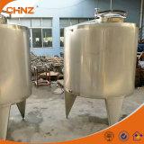 304ステンレス製のミルクの熱湯の貯蔵タンク1000L 2000L 5000L