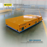 Carro de acero del tubo de acero de China de la estructura de rectángulo accionado por Rail