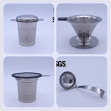 卸し売り緑茶は304ステンレス鋼の高品質レーザーのロゴのティースプーンをセットした