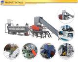 Bloque plástico de la producción PE/PP que se lava reciclando el estirador que hace la máquina