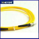 Cavo di zona ottico della fibra di ST/PC St-St duplex da 50/125 di millimetro di fibra ottica