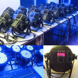 54X3w RGB 3in1 DMX exterior impermeável LED PAR Can