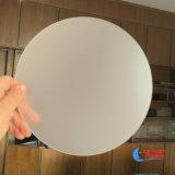 Strato chiaro acrilico di plastica glassato rotondo del diffusore del LED