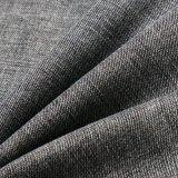 Tessuto viscoso nero dello Spandex del poliestere del cotone per i jeans