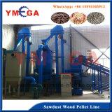 Ligne de production de granulés entiers Machines à granulés de bois pour combustible à brûler