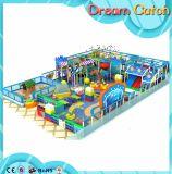 Campo de jogos ginástico interno da alta qualidade das crianças no telhado da casa