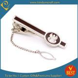Clip de lazo de encargo al por mayor del esmalte del metal para el regalo de la promoción