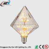 Il disegno moderno caldo 3W scalda la lampadina della stella bianca di scintillio