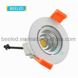 5W proyecto blanco fresco ahuecado Dimmable especular LED comercial Downlight