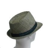 Paja de papel de moda del sombrero de Fedora