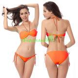 Sexy Cross Halter String Bikini pour dames