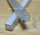 Профиль прокладки 6063 СИД алюминиевый с профилем прокладки PC Cover/LED