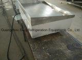 Griddle elétrico inoxidável resistente comercial do plano de aço