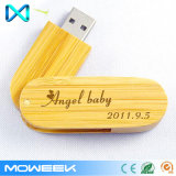 Comany regalo de madera USB Stick Bamboo USB Flash Drive