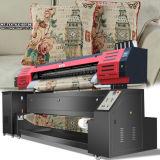 Stampante di lavoro a maglia del tessuto del filo di ordito con risoluzione di larghezza di stampa delle testine di stampa 1.8m/3.2m di Epson Dx7 1440dpi*1440dpi per stampa del tessuto direttamente