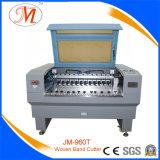 Máquina profissional de corte a laser para corte de banda tecida (JM-960T-WB)