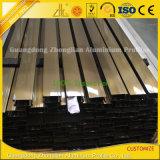 Electroforesis Champán/negro/aluminio de plata para la decoración del marco de puerta