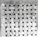Knit del estilo de los materiales de construcción del mosaico de piedra (FYSSC146)
