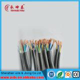 Fio elétrico um de todos os materiais elétricos, cabo distribuidor de corrente de materiais elétricos