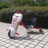 Mototec 백색 Triker 12V 편류 스쿠터 탐 - 리튬 배터리 전원을 사용하는 자전거