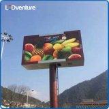 Visualización de LED al aire libre a todo color de la cabina ligera para hacer publicidad