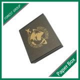 Costume da caixa de papel do projeto do logotipo do cartão impresso (FP0200091)