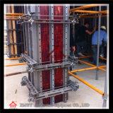 Encofrado de la columna del encofrado de la pared de la fuerza de esquileo de los materiales de construcción del metal de la alta calidad