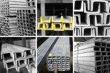 Barra da calha de aço - aço inoxidável de Builing - barra de S/S