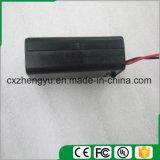 1AA Batteriehalterung mit den roten/schwarzen Leitungen, Deckel und Schalter