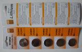 Lithium-Tasten-Zelle Cr2025 der gute Qualitäts3v