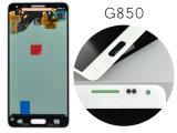 Affissione a cristalli liquidi completa per l'alfa Assemblea della visualizzazione del convertitore analogico/digitale dello schermo di tocco G850 di Samsung per l'alfa G850 della galassia di Samsung