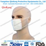 Respirateur non-tissé chirurgical remplaçable et masque protecteur médical de marche à suivre d'Earloop Qk-FM006