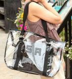 2017新しい夏の方法プラスチックハンド・バッグ浜袋(BDMC134)