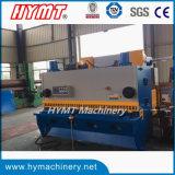Máquina de estaca de corte da guilhotina hidráulica do controle do CNC QC11K-10X3200