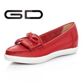 Fashion White Flats / Últimas Design Hot Products Girls Flat Shoes