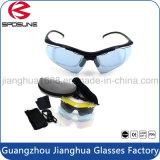 Custome polarizó el marco ligero de la luz del ordenador de los vidrios azules de los ojos para los anteojos de los deportes de las gafas de seguridad del laboratorio de los hombres y de las mujeres