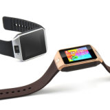 인조 인간 Ios를 위한 Gelbert Dz09 SIM 카드 Bluetooth Smartwatch