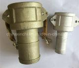 Aluminium Camlock met Gele Oxydatie