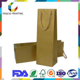 Saco de papel da forma colorida barata para produtos relativos à promoção