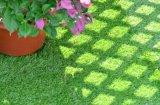 De permeabele Steunende Groene Synthetische BuitenVloer van de Tegel van Decking van het Gras