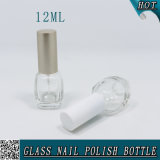 12ml löschen leere Glasflasche mit Überwurfmutter für Nagellack
