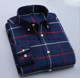 Camicia del prato inglese di Terylene Oxford dei tre uomini di colore
